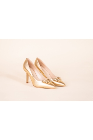 PATENT LEATHER POINTED-TOE...