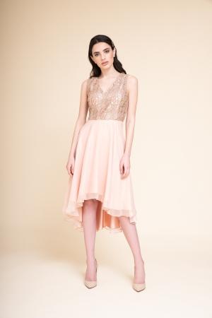 SHORT DRESS IN BRINE' FABRIC